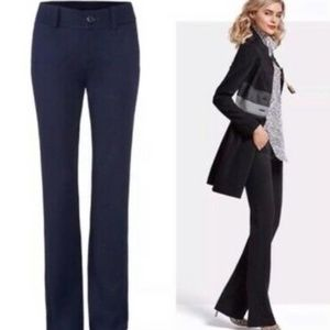 NWT CABI 600 Navy Wide Leg 9-5 Work Trousers Pants